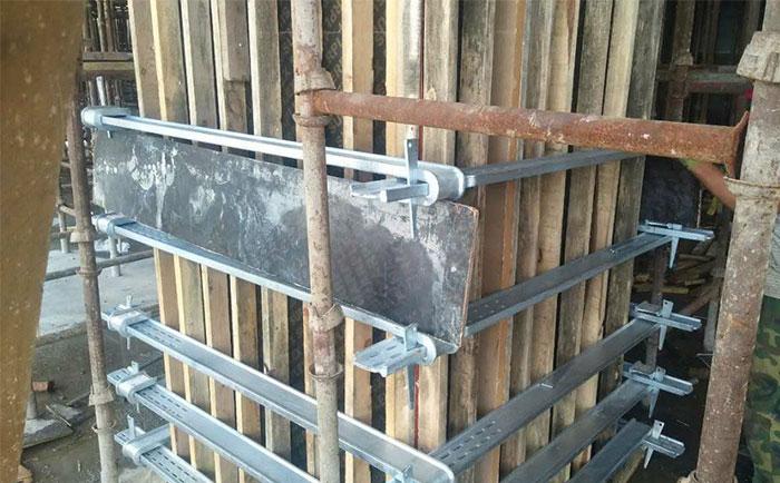 方柱方形卡箍图片